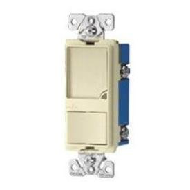 Cooper Wiring Devices 7738V-Box 15-Amp 120-Volt Heavy Duty Grade One Single-Pole Switch With 1-Watt 120-Volt Led Nightlight Combination, Light Ivory front-377696