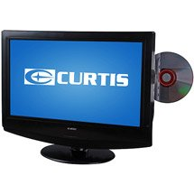 Curtis 15.6-Inch LCD HD TV/DVD Combo, TV with Built-In DVD Player