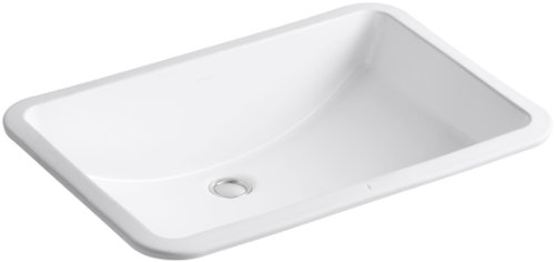 Best Review Of KOHLER K-2215-0 Ladena Undercounter Lavatory, White