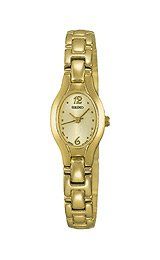 Seiko Women's Gold-tone I watch #SXGJ72