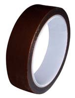 "Shercon 24-1000 Polyimide Film Low-Static Tape, -100 To 500 Degree F, 7000V Dielectric Strength, 36 Yd Length X 1"" Width"