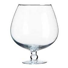 Xxxl Snifter Oversized Fillable Clear Glass Cognac Snifter Decorative Versatile Decoratable Glass Snifter Height Approx 21 Cm Volume 2,9 Litre Oberstdorfer Glashütte (Giant Glass Container compare prices)