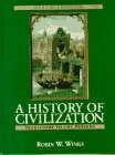 A History of Civilization: Prehistory to the Present (Combined) (9th Edition) (0132283395) by Winks, Robin W.