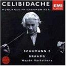 シューマン:交響曲第2番、ブラームス:ハイドンの主題による変奏曲