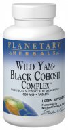 Planetary Herbals Wild Yam-Black Cohosh Complex Tablets, 120 Count