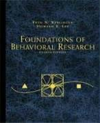Foundations of Behavioral Research (PSY 200 (300)...
