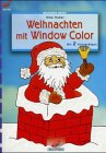 Window-Color-Vorlage: Brunnen-Reihe, Weihnachten mit Window Color
