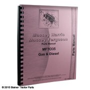 Ferguson To35 Gas & Dsl..Pts Parts (Pts) Manual