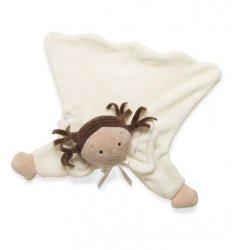 North American Bear Company Little Princess Angel Cozy, Brunette (Discontinued by Manufacturer)