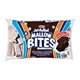 Jet-Puffed Mallow Bites - Chocolate Brownie Marshmallows