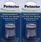 Two-Pack Dog Fence Batteries for Invisible Fence Brand Receiver Collars by Perimeter Technologies (Battery Electric Fence compare prices)