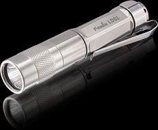 Fenix mini LD01 CREE Q5 80 Lumens LED Flashlight - black color, using one AAA battery