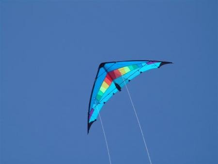 Jet Stream Strong Ready to fly, Lenkdrachen blau,rainbow bestellen