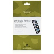 Power Support Anti-Glare Film Set for iPhone 3G