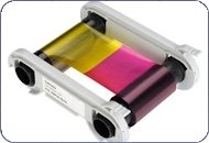 Consumables, YMCKO Color Ribbon, Primacy Compatible, 300 Prints – 1 Roll