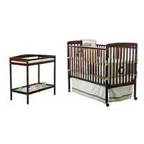 Dream On Me - 2-In-1 Full-Size Crib And Changing Table Combo, Espresso front-947887