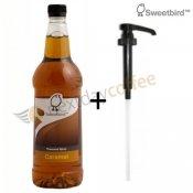 Sweetbird Caramel Syrup + Pump