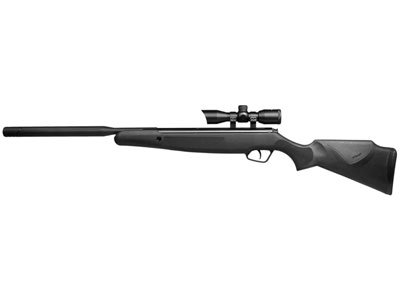 Stoeger Air Rifles X20 1200 FPS Black Synthetic Monte Carlo-Style Stock Suppressor Air Rifle with 4x32 Illuminated Red/Green Scope (Air Rifle Silencer compare prices)