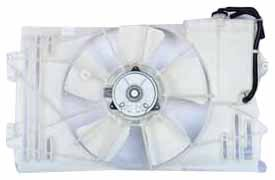 TYC 620630 Toyota Matrix Replacement Radiator/Condenser Cooling Fan Assembly (2004 Pontiac Vibe Radiator compare prices)