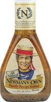 Newman's Own Family Recipe Italian Salad Dressing 16 oz