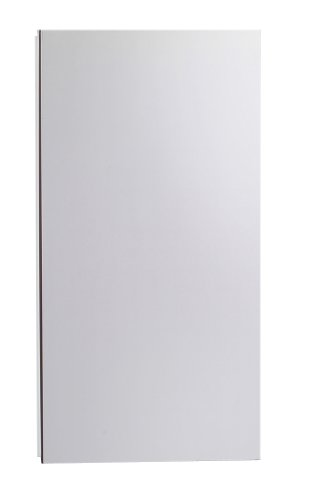Robern Mt16D4Fpre M Series Electric Right Hinge Plain Mirror Cabinet With Mirror Defogger, 15-1/4-Inch W By 30-Inch H By 4-Inch D front-760750