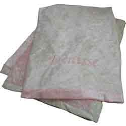 Baby Blanket - Color: Solid Pink