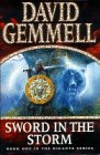 Sword In The Storm (The Rigante series) [SIGNED] David Gemmell