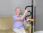 Standing Pole with Grab Bar