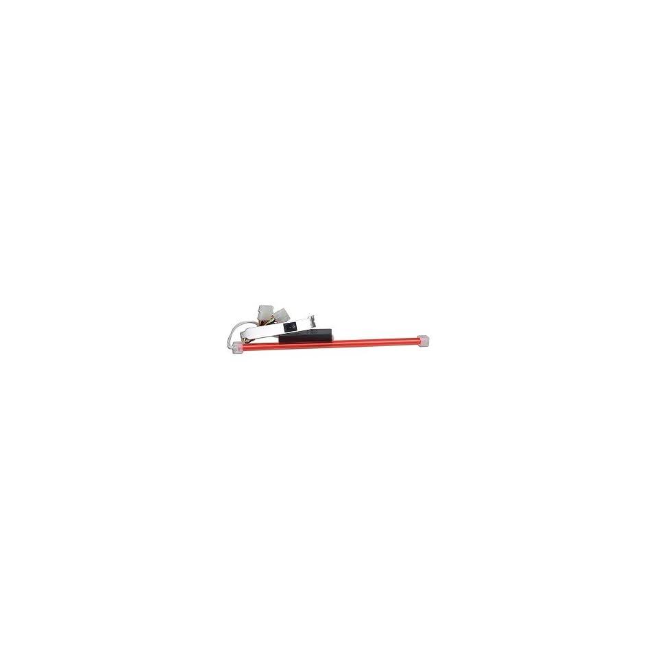 Nincom CCFL 12R 12 Cold Cathode Case Light w/Power Switch (Red)