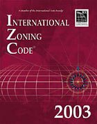 2003 International Zoning Code - Soft-cover -  - IC-3900S03 - ISBN: 189239572X - ISBN-13: 9781892395726