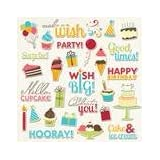Imaginisce Hello Cupcake Wish Come True Die Cuts