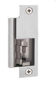 Hes 8500-Lbm-852L-630 Concealed Mortise Electric Strike W/ Latchbolt Monitor & 852L Option Faceplate