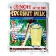 NOH Hawaiian Coconut Milk, 2.5-Ounce Packet, (Pack of 10)