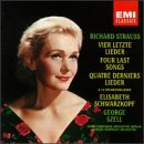 Strauss: Four Last Songs / 12 Orchestral Lieder back-364354