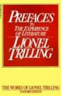 Preface to the Experience of Literature (0156738104) by Trilling, Lionel