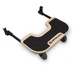 UPPAbaby Cruz Piggyback Ride-Along Board, Tan.