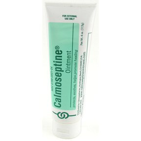 Calmoseptine diaper rash ointment tube - 4 oz, 6 pack