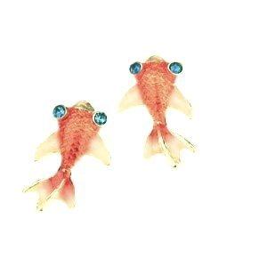 New Under the Sea Orange Carp Koi Gold Fish Goldfish
