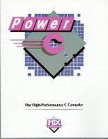 Power C: ANSI Standard High-Performance C Compiler