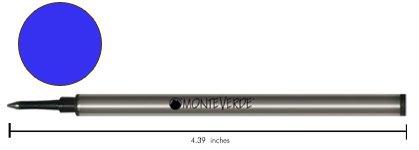 Monteverde W241BU Recharge pour stylo roller Bleu Lot de 2
