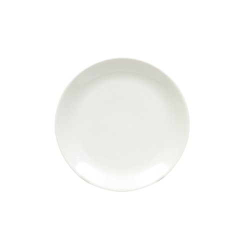 Maxwell And Williams Basics Coupe Side Plate, White