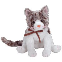 TY Beanie Baby - FRISKY the Cat (BBOM September 2005)
