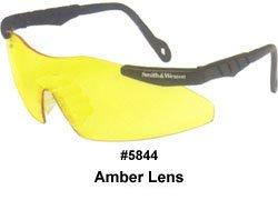 Jackson 3011676 KC 19826 Magnum Safety Glasses Black Frame Yellow Lens