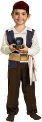 Pirates of the Caribbean - Toddler Costume: Jack Sparrow- 3T/4T