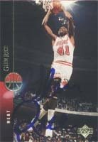 Glen Rice Miami Heat 1995 Upper Deck Autographed Hand Signed Trading Card. by Hall+of+Fame+Memorabilia