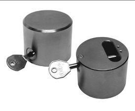 how to break a hockey puck lock