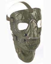 Originale US Army Gummi Kältschutzsmaske Oliv