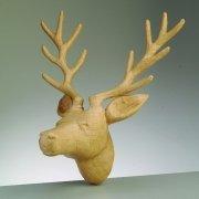 efco-pappart-figurine-stag-head-papier-mache-brown-39-x-31-x-25-cm