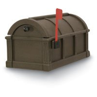 Postal Products Unlimited Sunset Pointe Polyethylene Coffee Mailbox