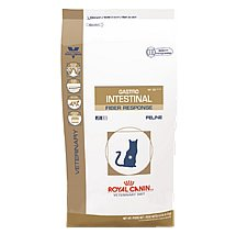 See Royal Canin Veterinary Diet Feline Gastro Intestinal Fiber Response (HF) Dry Cat Food 8.8 Lb. Bag